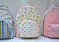 Zip A Bag Chapter 15: Backpacks With Zippered Gussets (ikat bag)