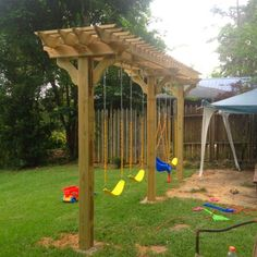 build your own swing set - Google Search