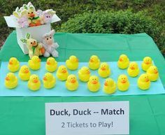 Lucky Duck Carnival Game – No Water Needed! Image Detail for – Carnival Games – Duck, Duck Prize Carnival Booth Diy Carnival Games, Carnival Booths, Carnival Games For Kids, Carnival Ideas, Church Carnival Games, Camp Carnival, Carnival Prizes, Luau Games, Halloween Carnival Games