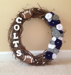 Colts wreath                                                                                                                                                                                 More