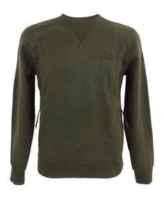 CP Company Sweatshirt With Kangaroo Pocket In Green Kangaroo, Pocket, Sweatshirts, Long Sleeve, Green, Sleeves, Mens Tops, T Shirt, Fashion