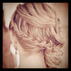 Want to do this into side curls for prom