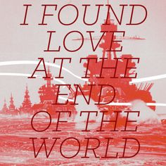 Love At The End - John Mark McMillan part of my ongoing lyric series on instagram http://instagr.am/meeshwilson