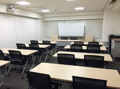 Our partition wall in the meeting rooms can be removed to sit up to 150 people.. it's huge!