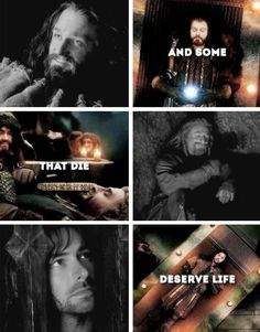 Gandalf quote.*starts to cry heart out*
