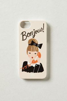 Bonjour iPhone 5 Case - Anthropologie.com
