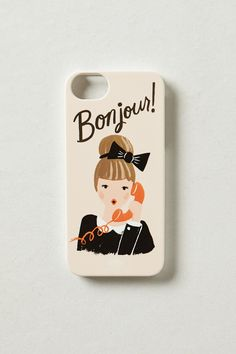 Bonjour iPhone 5 Case - Anthropologie.com