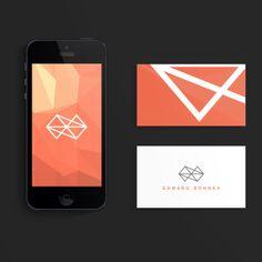 Personal Branding by Ed Sonnex, via Behance