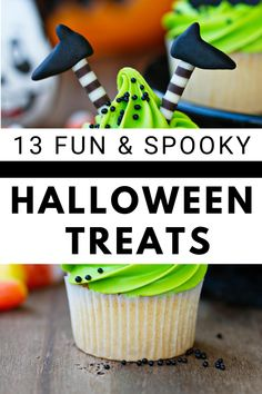 Looking for the perfect Halloween treat? Whether you're bringing cupcakes for a class party, want a great snack before Trick or Treating, or need lots of treats for a Halloween party, you can find exactly what you need here with these cute and spooky options! Halloween Appetizers, Halloween Desserts, Halloween Food For Party, Halloween Snacks, Halloween Cupcakes, Halloween 2020, Halloween Projects, Fall Desserts, Spooky Halloween