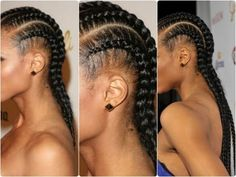 ▶ Simple and Easy: Cornrow Tutorial ♡ - YouTube