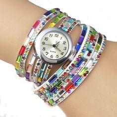 NEW Fashion Strip Bracelet Watch (Color: White) | Save upto 45% with us |  Visit our website now  uniquefashionusa.com