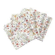 BOUQUET Dinner Napkins by lfntextiles   Roostery Home Decor