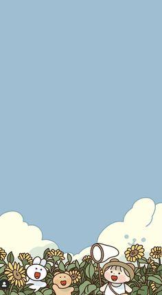 Cute Pastel Wallpaper, Soft Wallpaper, Cute Anime Wallpaper, Iphone Background Wallpaper, Aesthetic Pastel Wallpaper, Cute Cartoon Wallpapers, Animes Wallpapers, Disney Wallpaper, Iphone Wallpapers