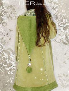 HER Little world, Patron de couture pour vêtement enfant, Manteau Elfique