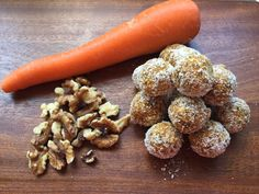 Read our recipe for Carrot Cake Bliss Balls as part of the Lose Baby Weight plans and healthy mummy smoothies which are a safe and healthy way to lose weight |