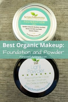 Best Organic Makeup: Foundation and Powder: