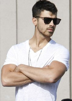 Joe Jonas  Dear Santa, Can I please get him for Christmas? Love, Sarah