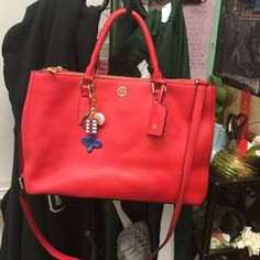 Available for purchase Large Tory Burch double zip See main listing Tory Burch Bags Satchels