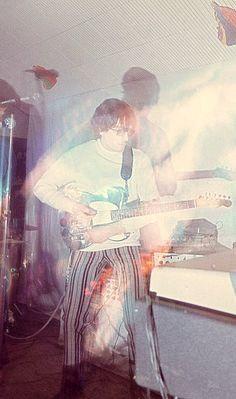 Syd Barrett at the UFO Club in London, 1966