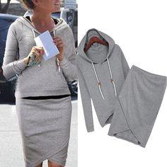 comfy hoodie dress