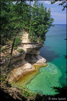 Pictured Rocks National Lakeshore, Near Grand Portal Point