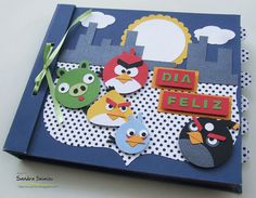 fun-ideas handmade: Mini-álbum 'Angry Birds'