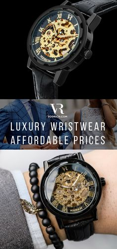 Reward your wrist without breaking the bank! The Gatsby gives you a timepiece with a high-end look & feel that will always keep you on point in an exquisite way. It has a matte black brushed case and a black genuine leather band & is ideal to be worn as either a casual lifestyle piece or in a formal setting. Free Shipping Worldwide✈ Click the BUY button to make it yours!