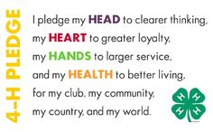 The 4h Pledge