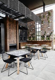 Junction Moama - Studio Nine Architects Architects, Conference Room, Patio, Studio, Outdoor Decor, Table, Furniture, Home Decor, Decoration Home