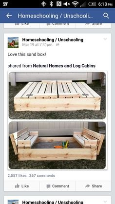 Build this sweet POOP FREE play area for my young.