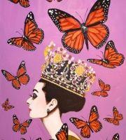 love Sarah Ashley Longshore 's Audrey paintings.