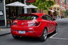New Release Holden Astra GTC VXR 2016 Review Rear View Model