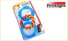 """Dog owners and pups will love this deal: """"One ORKA Dental Links Toy"""" as featured on doggyloot.com"""