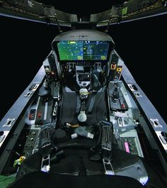 F 35 cockpit Fighter Pilot, Fighter Aircraft, Fighter Jets, Military Jets, Military Aircraft, F35 Lightning, Jas 39 Gripen, Aircraft Interiors, Aircraft Design