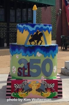 Cakeway to the West - Rigazzis view 1 #cakewaytothewest #stl250