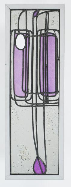 "Art Nouveau - Vitrail du ""Willow Tea Rooms"" - Charles Rennie Mackintosh"