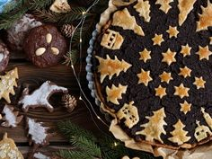 Poppy seed shortcrust tart and gingerbreads for Christmas Poppy, Tart, Gingerbread, Seeds, Cookies, Desserts, Christmas, Recipes, Food