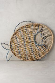 Rattan Reef-Dweller Tray - anthropologie.com #anthrofave