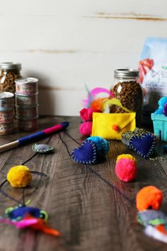 Simple to Make DIY Homemade Cat Toys (With Catnip, of course!)   |   Joy the Baker