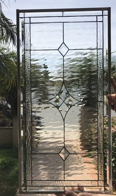 Modern Stained Glass, Stained Glass Door, Stained Glass Panels, Stained Glass Cabinets, Leadlight Windows, Leaded Glass Windows, Etched Glass Windows, Wine Bottle Wall, Door Window Treatments