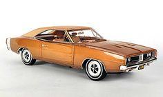 ertl+1+18+diecast+cars   Dodge Charger 1968 R/T SE bronze/mattbeige Ertl 1/18