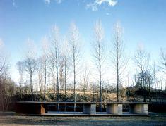 RCR Arquitectes - Pabellón del Baño, Espacio Fluvial, Tussols-Basil, Olot, Gerona (1999)