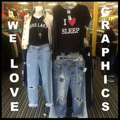 We sure do!  & we have tons of  graphic tees for up to 75% off mall prices. & what better to pair a graphic tee than a pair of distressed boyfriend jeans? But don't worry we have a ton of those too!  #platosclosetchitown#platosclosetlincolnpark#platoscloset#graphictee#graphics#jeans#denim#boyfriendjeans#distressed#style#casual#display#instadaily#instacool#instagood#instagram#instapic#cool#boss#picoftheday#look#love#awesome#deals#bfjeans#denimdaze#igers#doubletap#like http://ift.tt/2eW77sw…