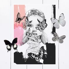 Image of Flutter - LIMITED EDITION PRINT