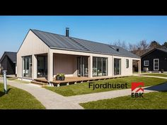 EBK ONV Huset - YouTube Industrial, Facade, Shed, Barn, Outdoor Structures, Outdoor Decor, Caption, Inspiration, Home Decor