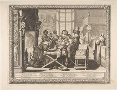 1633.Bosse, Abraham. Childbirth (L'Accouchement).Etching with engraving; first state of two (Join-Lambert and Préaud). 10 1/2 x 13 1/2 in. (26.7 x 34.3 cm). Metropolitan Museum of Art, New York NY.