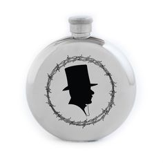 37e42bab08c Ruffian x Izola Gentleman Silhouette 5 oz. Flask Flask