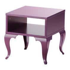 TROLLSTA Beistelltisch IKEA Offene Fläche für zusätzliche Aufbewahrung unter der Tischplatte. Geringes Gewicht; leicht zu versetzen.