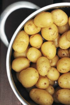 In season - May, Cornish new potatoes