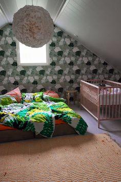 isoistapienistä makuuhuone